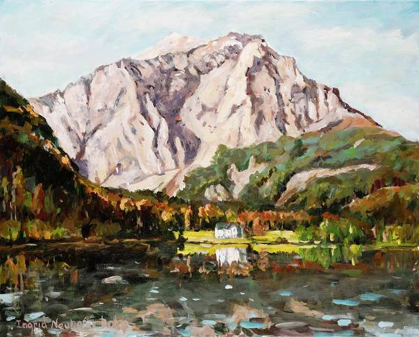 Painting - Langbahtsee by Ingrid Dohm