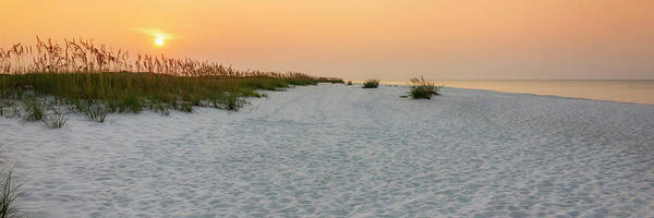 Wall Art - Photograph - Langdon Beach Sunrise 5 Panorama - Pensacola Beach Florida by Brian Harig