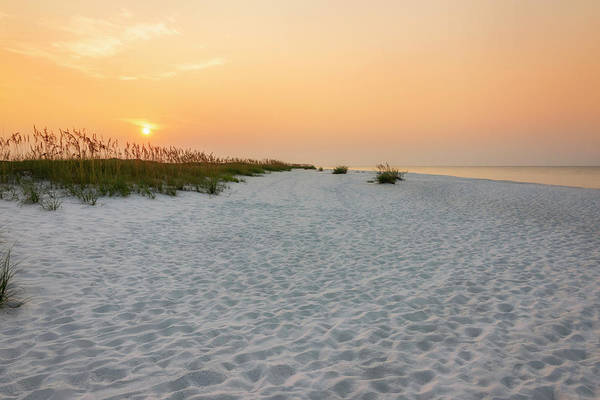Pensacola Photograph - Langdon Beach Sunrise 5 - Pensacola Beach Florida by Brian Harig