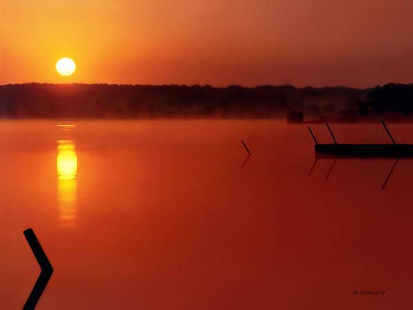 Ish Wall Art - Photograph - Langford Bay Sunrise by Brian Wallace
