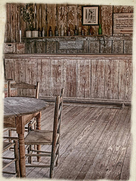 Photograph - Langtree Saloon by Charles McKelroy