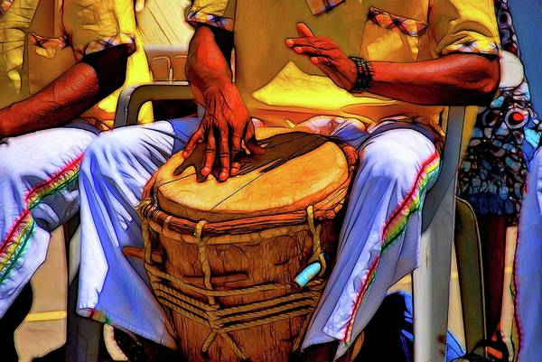 Djembe Wall Art - Photograph - Language Of The Drum by David Coleman