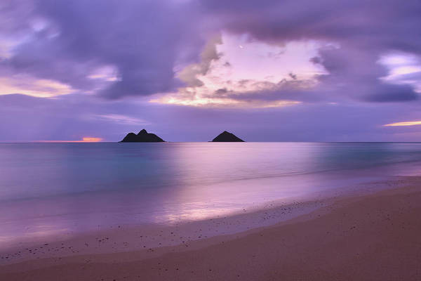 Wall Art - Photograph - Lanikai Beach Sunrise 3 - Kailua Oahu Hawaii by Brian Harig