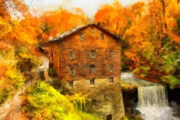 Digital Art - Lanterman's Mill by Caito Junqueira