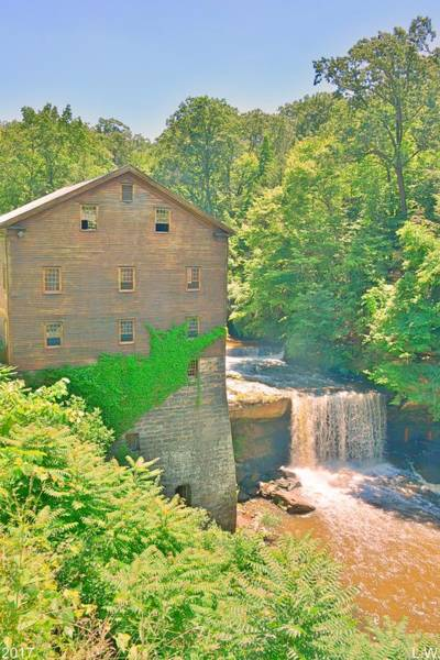 Photograph - Lanterman's Mill In Mill Creek Park Vertical by Lisa Wooten