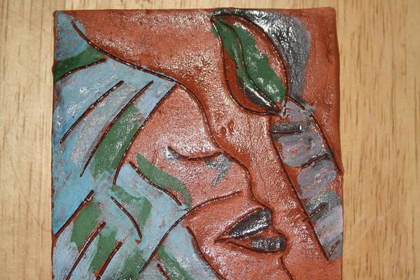 Ceramic Art - Lantern - Tile by Gloria Ssali
