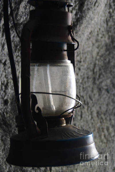 Photograph - Lantern Blue by Linda Shafer