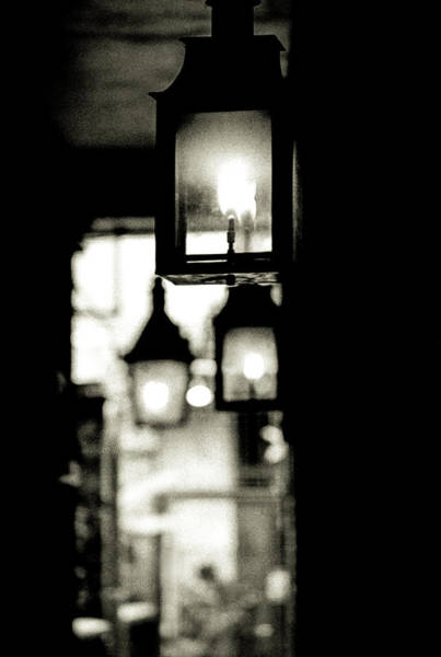 Photograph - Lanterns Lit by KG Thienemann