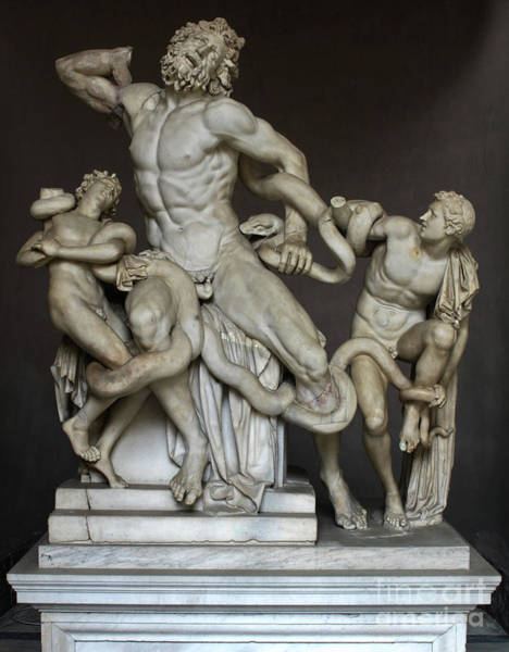 Photograph - Laocoon And His Sons At The Vatican by Gregory Dyer