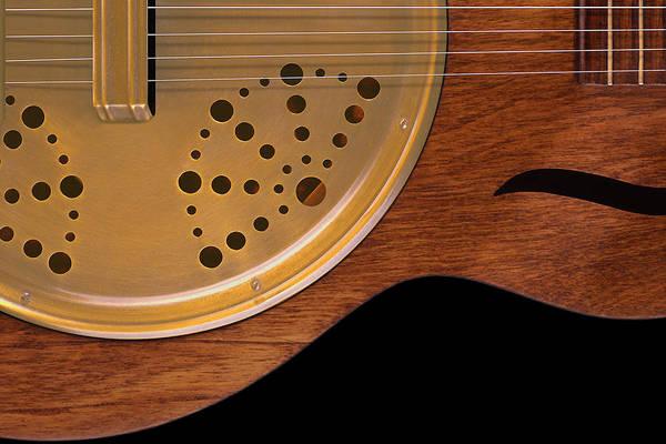 Acoustic Guitar Photograph - Lap Guitar I by Mike McGlothlen