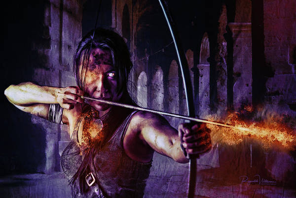 Photograph - Lara Croft Reloaded by Reynaldo Williams