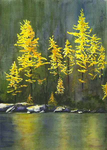 Painting - Larches by Marsha Karle
