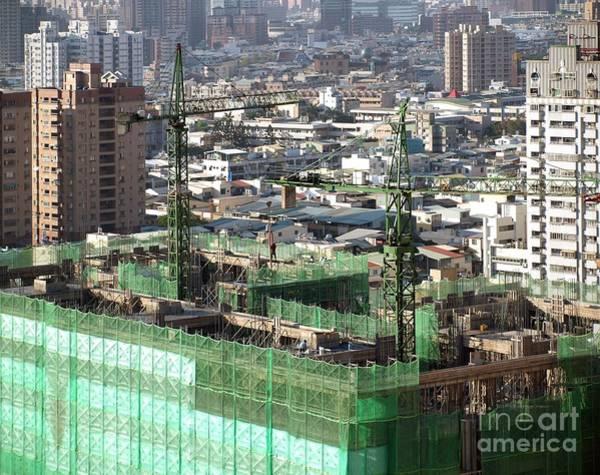 Large Scale Construction Site Art Print