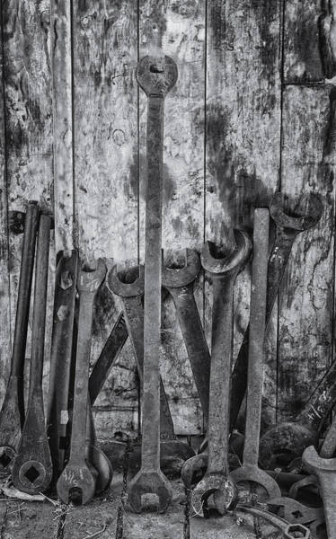 Photograph - Large Tools by Tom Singleton