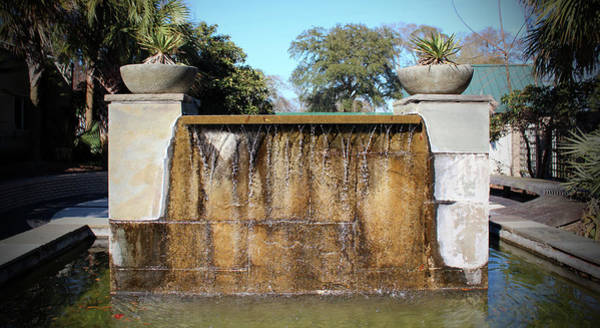 Photograph - Large Water Fountain by Cynthia Guinn