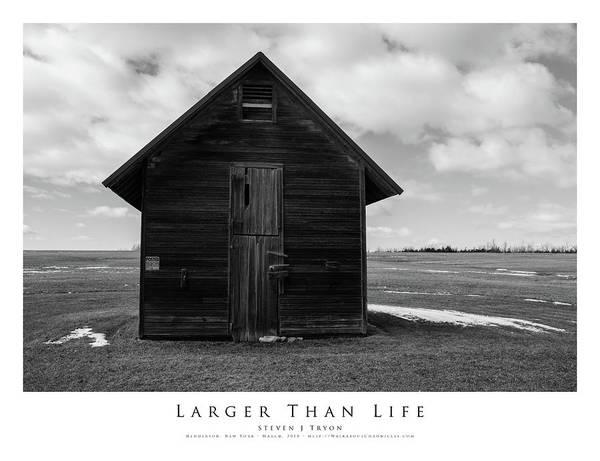 Larger Than Life Art Print by Steven Tryon