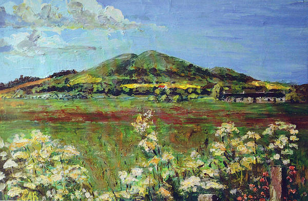 Fife Painting - Largo Law by Gerry Best