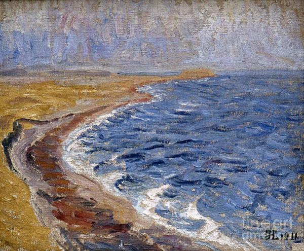 Photograph - Larsen: Painting, 1911 by Granger
