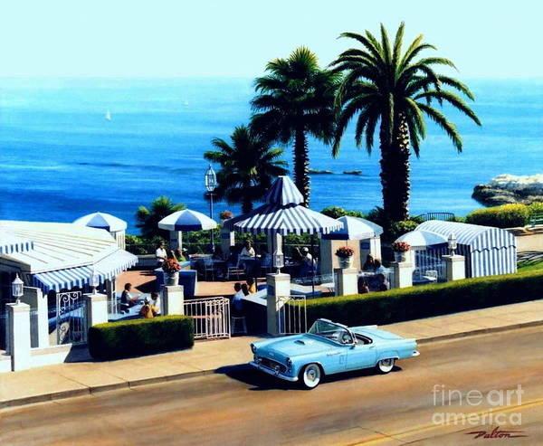 Laguna Beach Painting - Las Brisas Patio by Frank Dalton