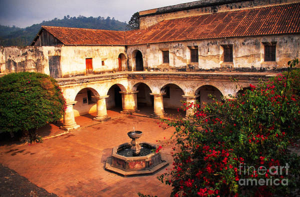 Photograph - Las Capuchinas Convent Ruins by Thomas R Fletcher