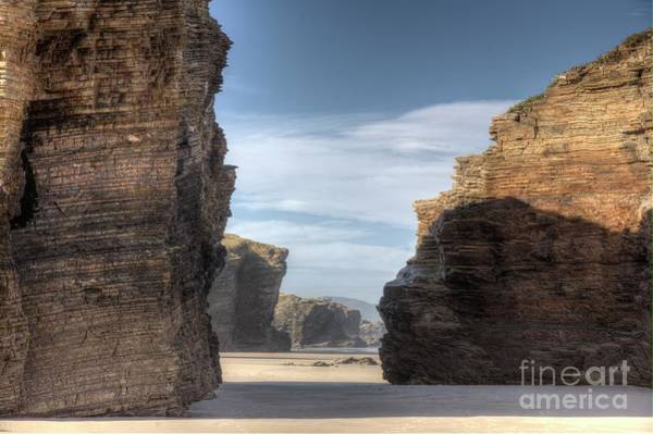 Photograph - Beach Of Cathedrals by Heiko Koehrer-Wagner