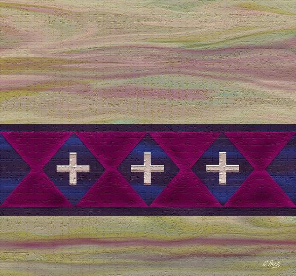 Southwest Digital Art - Las Cruces by Gordon Beck