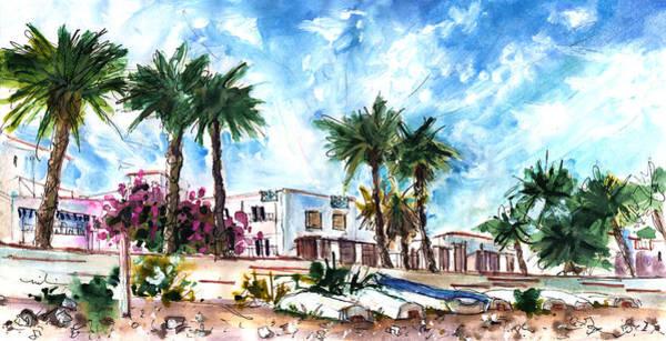 Painting - Las Negras Panoramic by Miki De Goodaboom