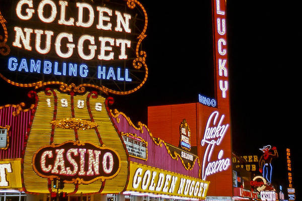 Photograph - Las Vegas 1964  I by Albert Seger