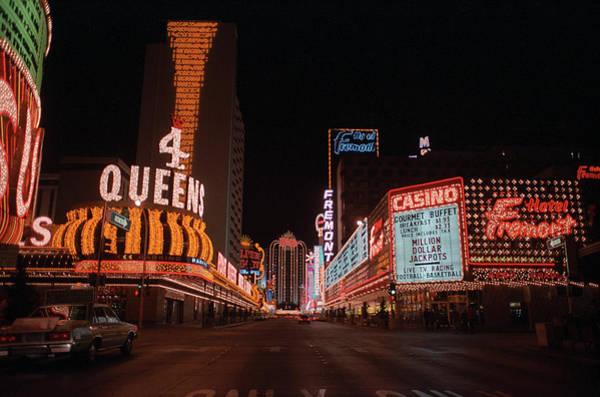 Photograph - Las Vegas 1983 #11 by Frank Romeo