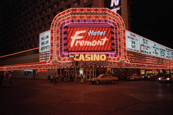 Photograph - Las Vegas 1983 #12 by Frank Romeo