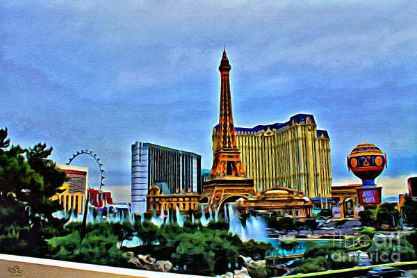 Photograph - Las Vegas by Beauty For God