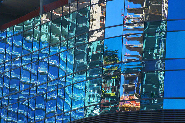 Las Vegas City Center Reflection Art Print