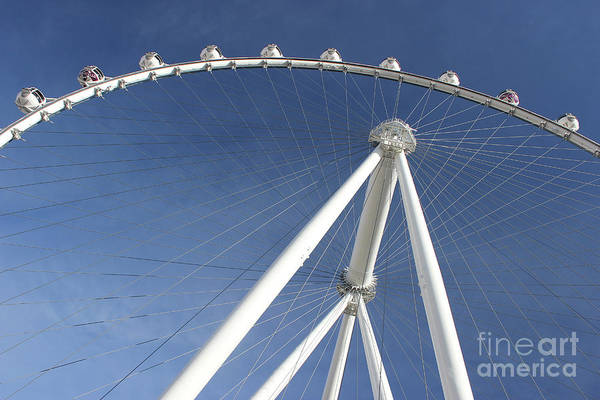 Photograph - Las Vegas High Roller by Wilko Van de Kamp