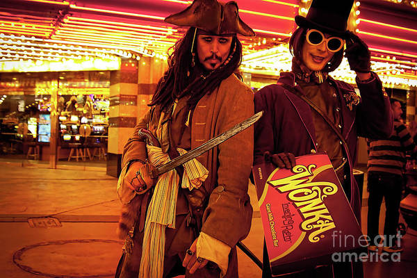 Photograph - Las Vegas Impersonators by Tatiana Travelways