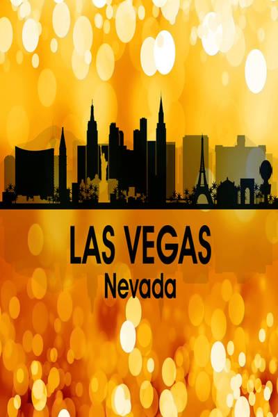 Digital Art - Las Vegas Nv 3 Vertical by Angelina Tamez