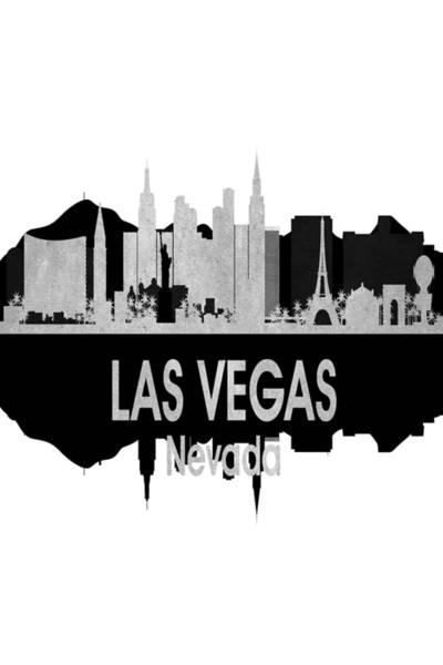 Digital Art - Las Vegas Nv 4 Vertical by Angelina Tamez