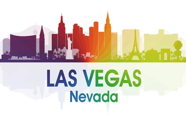 Mixed Media - Las Vegas Nv  by Angelina Tamez