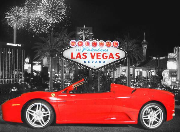 Fabulous Digital Art - Welcome To Las Vegas by Art Spectrum