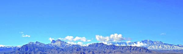 Photograph - Las Vegas Spring Mt Range One by Carl Deaville