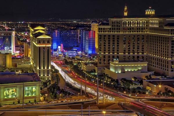 Photograph - Las Vegas Strip Aerial View - by Susan Candelario