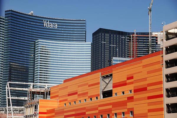 Photograph - Las Vegas Under Construction by Susanne Van Hulst