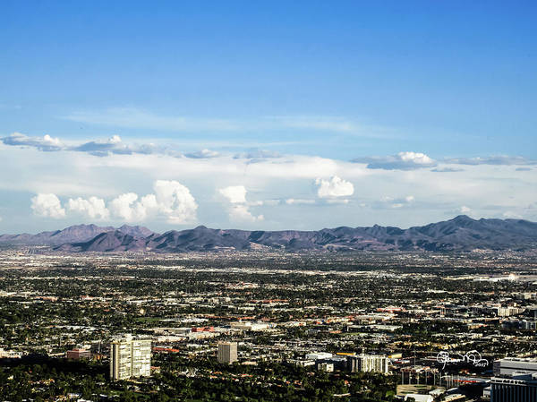 Photograph - Las Vegas Valley by Susan Molnar