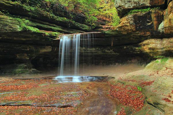 Waterfall Photograph - Lasalle Canyon Waterfall 3 by Greg Matchick
