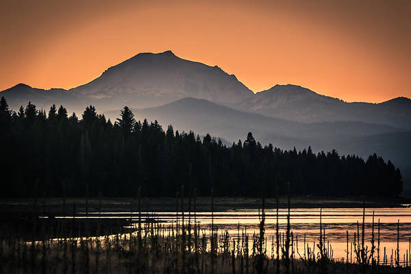Photograph - Lassen In Autumn Glory by Jan Davies