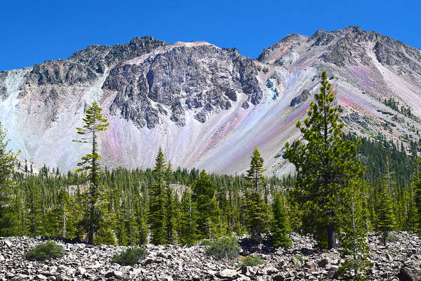 Photograph - Lassen Peak And Desolation Area by Frank Wilson