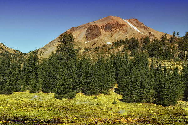 Photograph - Lassen Peak by Frank Wilson