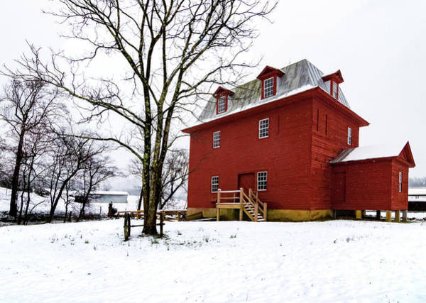 Suggestion Photograph - Last Big Otter River Mill Snowfall by Norma Brandsberg
