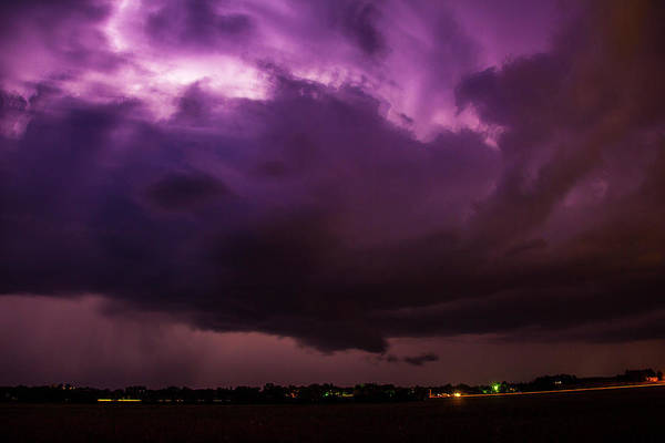 Photograph - Last Chace Lightning For 2017 002 by NebraskaSC