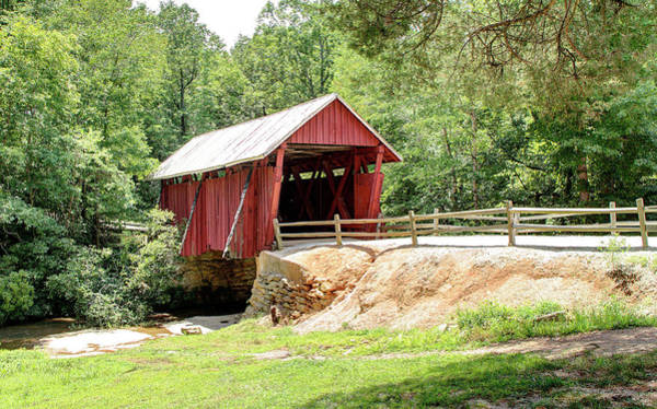Photograph - Last Covered Bridge In Sc by Ree Reid