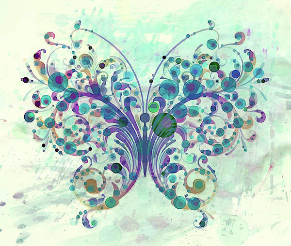 Mixed Media - Last Dance Of A Butterfly by Isabella Howard
